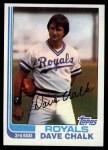 1982 Topps #462  Dave Chalk  Front Thumbnail