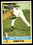 1976 Topps #190  Jon Matlack  Front Thumbnail