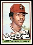 1976 Topps Traded #434 T Morris Nettles  Front Thumbnail