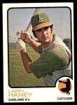 1973 Topps #563  Larry Haney  Front Thumbnail