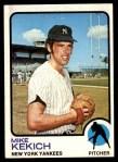 1973 Topps #371  Mike Kekich  Front Thumbnail