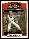 1972 Topps #464  Jim Roland  Front Thumbnail