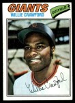 1977 Topps #642  Willie Crawford  Front Thumbnail