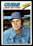 1977 Topps #64  Larry Biittner  Front Thumbnail