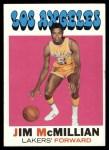 1971 Topps #41  Jim McMillian   Front Thumbnail