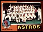 1975 Topps #487   -  Preston Gomez Astros Team Checklist Front Thumbnail