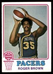 1973 Topps #231  Roger Brown  Front Thumbnail