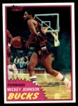 1981 Topps #98 MW Mickey Johnson  Front Thumbnail