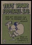 1972 Topps #120   -  Terry Bradshaw Pro Action Back Thumbnail