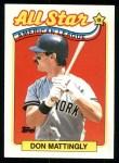 1989 Topps #397   -  Don Mattingly All-Star Front Thumbnail