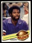 1979 Topps #95  Leonard Robinson  Front Thumbnail