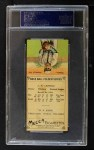 1911 T201 Mecca  Lefty Leifield / Mike Simon  Back Thumbnail