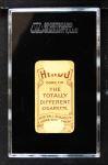 1909 T206 Brown Hindu CLE Billy Hinchman  Back Thumbnail