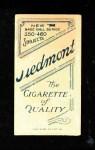 1909 T206 GLV John McGraw  Back Thumbnail