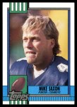 1990 Topps #494  Mike Saxon  Front Thumbnail