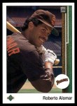 1989 Upper Deck #471  Roberto Alomar  Front Thumbnail
