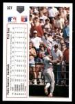 1991 Upper Deck #327  Pedro Guerrero  Back Thumbnail