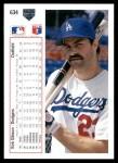 1991 Upper Deck #634  Kirk Gibson  Back Thumbnail
