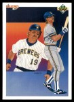 1990 Upper Deck #91   -  Robin Yount Milwaukee Brewers Team Front Thumbnail