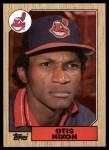 1987 Topps #486  Otis Nixon  Front Thumbnail