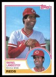 1983 Topps #684  Rafael Landestoy  Front Thumbnail
