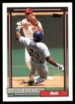 1992 Topps #136  Bill Doran  Front Thumbnail