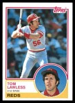 1983 Topps #423  Tom Lawless  Front Thumbnail