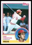 1983 Topps #720  Dave Concepcion  Front Thumbnail