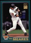 2001 Topps #28  Pat Meares  Front Thumbnail