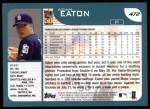 2001 Topps #472  Adam Eaton  Back Thumbnail