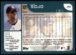 2001 Topps #151  Luis Sojo  Back Thumbnail