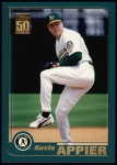 2001 Topps #176  Kevin Appier  Front Thumbnail