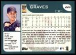 2001 Topps #228  Danny Graves  Back Thumbnail