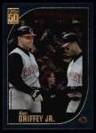 2001 Topps #389   -  Ken Griffey Jr. Season Highlights Front Thumbnail