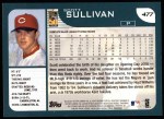 2001 Topps #477  Scott Sullivan  Back Thumbnail