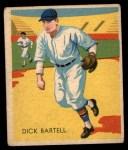 1935 Diamond Stars #101  Dick Bartell   Front Thumbnail
