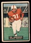1951 Topps Magic #10  Vic Janowicz  Front Thumbnail