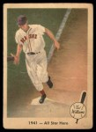 1959 Fleer #18   -  Ted Williams  All Star Hero Front Thumbnail