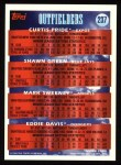 1994 Topps #237  Curtis Pride / Shawn Green / Mark Sweeney  Back Thumbnail