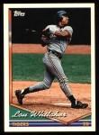 1994 Topps #410  Lou Whitaker  Front Thumbnail