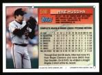 1994 Topps #598  Mike Mussina  Back Thumbnail