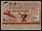 1958 Topps #441  Jim Marshall  Back Thumbnail