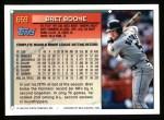 1994 Topps #659  Bret Boone  Back Thumbnail