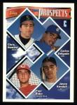 1994 Topps #686  Carlos Delgado  /  Jason Kendall  Front Thumbnail