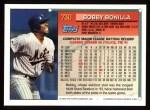 1994 Topps #730  Bobby Bonilla  Back Thumbnail