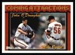 1994 Topps #763  John O'Donoghue  /  Mark Oquist  Front Thumbnail