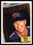 1994 Topps #201  Mike Bell  Front Thumbnail