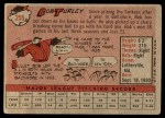 1958 Topps #255  Bob Turley  Back Thumbnail