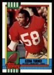 1990 Topps #24  Keena Turner  Front Thumbnail