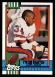 1990 Topps #30  Tyrone Braxton  Front Thumbnail